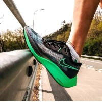 Sepatu Nike Zoom x Vaporfly Next % Valerian Blue Premium Original