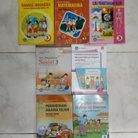 Buku paket pelajaran SD kelas 3 bse ada 7 buku