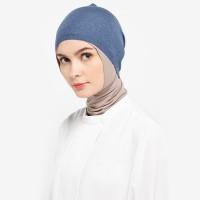 Headband Knitting Denim Blue Nw