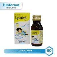 Lycalvit Syrup Vitamin & Kalsium Anak pada Masa Pertumbuhan - 60 ml
