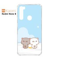 Custom Casing Redmi Note 8 Softcase Anticrack Motif Kucing Lucu 08