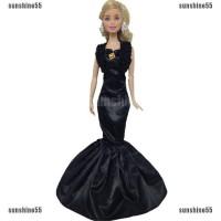 Dress Pesta Pernikahan Model Putri Duyung untuk Boneka Barbie