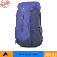 Kokomall Tas Ransel Hiking Eiger Lucid X 35L Original Rucksack - Blue
