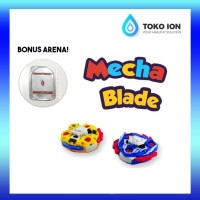 Gasing Mechablade Mainan Anak dengan Sensor Tangan - Paket isi 2 gasin