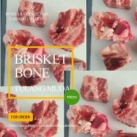 Tulang Iga Brisket / Tulang Sop Muda Daging Sapi / Brisket Bone Bandi