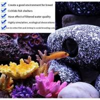 Aquarium rock decoration / breeding cave / tempat sembunyi ikan