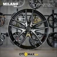 Sale Velg Mobil Milano 3315 Ring 17 Hitam Polish