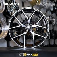 Sale Velg Mobil Milano (3311) Ring 17 Black Polish