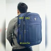 Tas Backpack Laptop besar Ransel jumbo 17 inchi polo power PP 002
