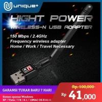 Antena Penerima Sinyal Wifi Receiver 150mbps (Usb Wireless Adapter)