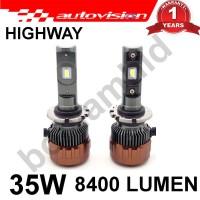 Lampu Mobil LED D2S D2R D2Y Autovision Highway Putih 6000K Grs 1 Tahun