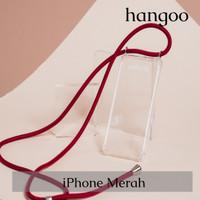 Casing hp iPhone tali merah hangoo