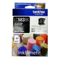 Tinta Brother LC 583 BLACK ORIGINAL MFC J2510 J3520 J3720