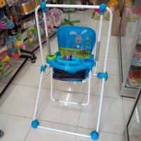 PLIKO 2 IN 1 BABY SWING Ayunan Kursi Makan Anak Bayi PK-206