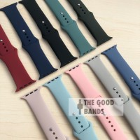 Strap Apple Watch Series 5 Sport Band Rubber Tali Sillicone 40mm 44mm