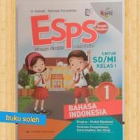 buku paket Esps SD kelas 1 bahasa Indonesia kurikulum2013revisi
