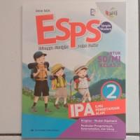 buku paket esps pelajaran IPA SD kelas 2 kurikulum 2013 revisi