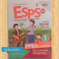 buku paket Esps PPKn untuk SD kelas 1 kurikulum 2013 revisi