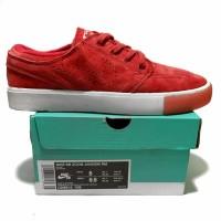 Sepatu Sneakers Casual Nike Sb Zoom Janoski RM Suede Red WHite Premium