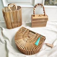 The Straw Tas Bambu Premium Bamboo Bag
