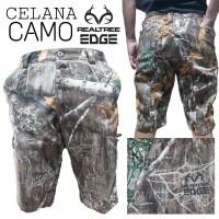 Celana Pendek Camo Realtree Edge Quick Dry Berburu Hunting Perbakin