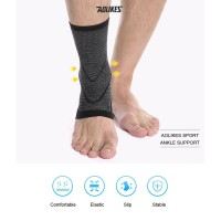 Ankle Support Protector Elastic Ankle Brace Ankle Engkel Protection - Hitam, XL