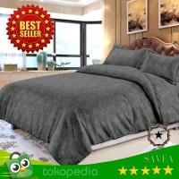 BED COVER SET Katun Jepang 3D Embos 180x200 KING SIZE Lembut Dingin