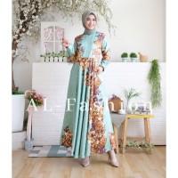 gamis syari/dress Maxi emma/fashion muslim wanita/baju lebaran