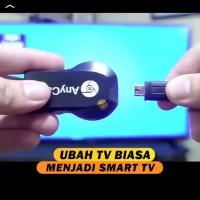 Anycast HDMI rubah tv biasa jadi smart tv