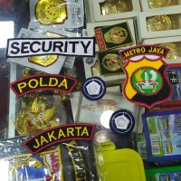 Bordiran Security Bordiran Satpam Atribut Satpam Atribut Security