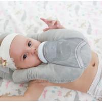 Bantal Leher Tidur Bayi & Tempat Minum Botol Susu Otomatis Lucu Baby