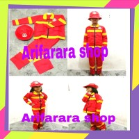 Baju Damkar / Pemadam Kebakaran Anak