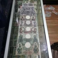 uang kuno repro set wayang 5 sampai 1000 gulden