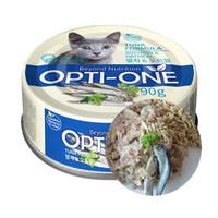 Opti-One Cat White Tuna & Anchovy, Oatmeal 90gr