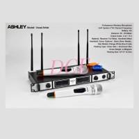 Mic Wireless ASHLEY VOCAL ARTIST + KOPER 4 ANTENA Original