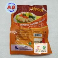 Fiesta Smoked Chicken Breast 250 gram Rolade Dada Ayam Asap Siap Saji
