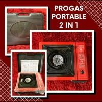 Kompor Portable Progas 2 in 1