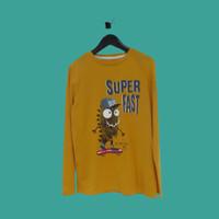Baju Kaos Anak Laki dan Perempuan TEX 5-14 Tahun