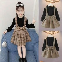 Dress anak lengan panjang Import,pakaian anak, baju anak cantik, cute