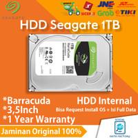 HARDDISK PC SEAGATE BARRACUDA 1TB HDD / HD SATA SLIM INTERNAL 3.5