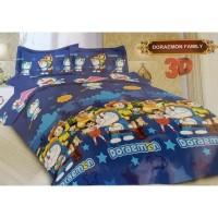 Bad Cover Set Bonita 180X200-Motif Doraemon-Bed Cover Kasur Buatakun26