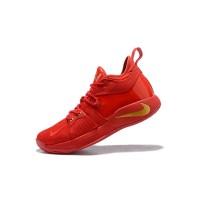 Sepatu Sneakers Basket Model Nike PG 2 EP China Warna Merah