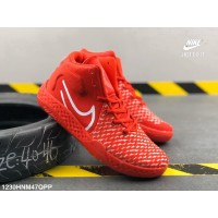 Sepatu Sneakers Basket Bertali Desain Nike KD Poy 5 VII untuk Pria