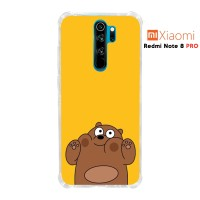 Case Casing Redmi Note 8 PRO Softcase Anticrack Motif Panda Lucu 22