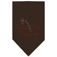 Mirage Pet Products Candy Cane Princess Rhinestone Bandana, Small, Coc