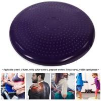 Yoga Balance Board Gym Stability Training Cushion Wobble Pad Ball