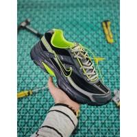 Sepatu Lari Desain Nike initiator Retro dengan Warna Hitam dan Hijau