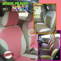 Sarung Jok Mobil Ertiga GL/GX - Bahan Ferari 2 Warna MBL#