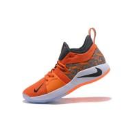 Sepatu Basket Desain Nike PG 2 EP Warna Orange Hitam