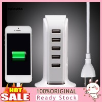 CDX Desktop Stand Dock Charging 30W 6A 5 Port USB untuk Handphone /